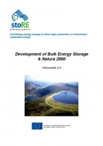 Development of Bulk Energy Storage & Natura 2000