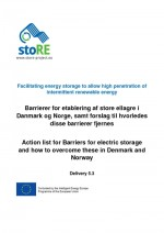 Energy Storage Action List in Denmark and Norway (with summary in English)