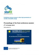 Proceedings of the Final Conference Session