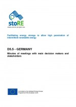 Minutes of the Meetings with Decision Makers in Germany