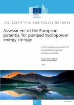 Assessment of the European Potential for Pumped Hydropower Energy Storage
