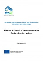 Minutes of the Meetings with Decision Makers in Denmark (in Danish with summary in English)