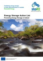 Energy Storage Action List in Ireland