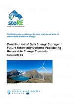 Contribution of Bulk Energy Storage in Future Electricity Systems Facilitating Renewable Energy Expansion