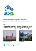 Current Status, Role and Costs of Energy Storage Technologies